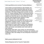 Bastian Bergmann Tennisschule | Lockdown
