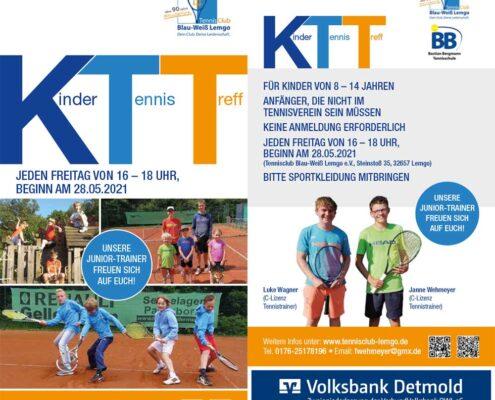 Kinder Tennis Treff   Tennisclub Blau-Weiß Lemgo